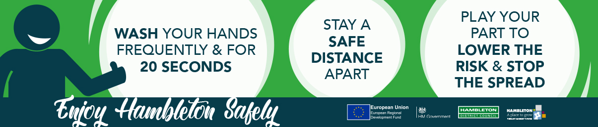 Enjoy hambleton safely 2 safe distance apart