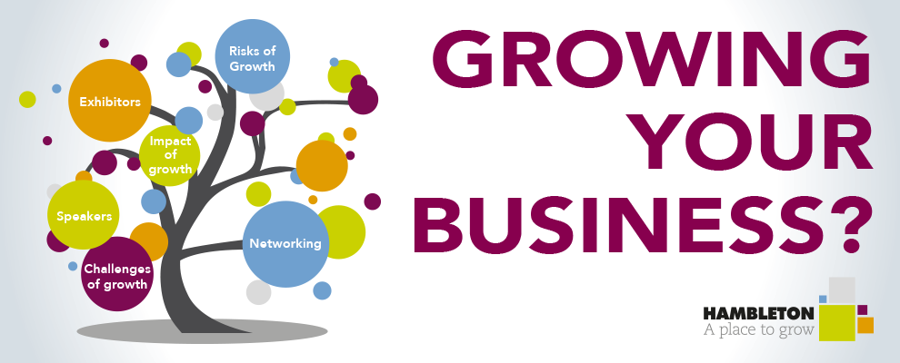 Hambleton business conference growing your business website banner 2019